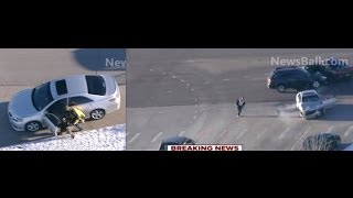COLORADO CARJACKING WILD HIGH SPEED Crash CAR CHASE HIGHLIGHTS - REAL GRAND THEFT AUTO - Ryan Stone