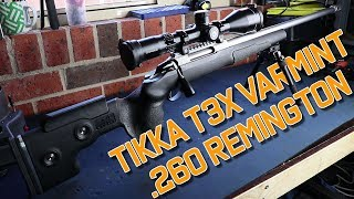 Tikka T3X .260 Remington  - Long Range Shooting Rig