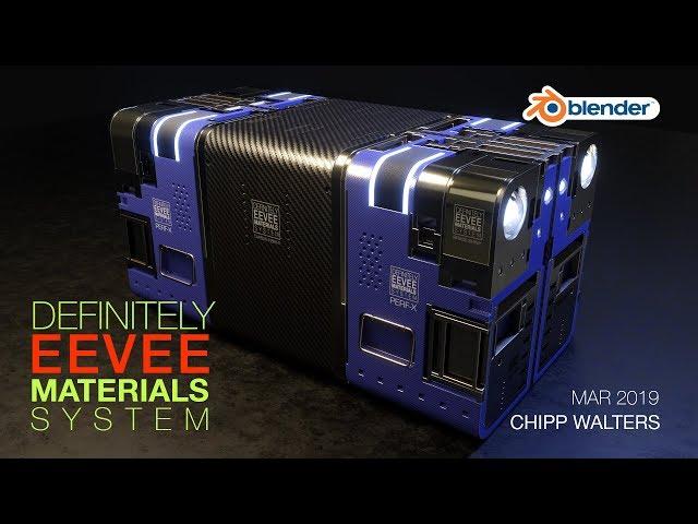 Blender 2.8 EEVEE Material System