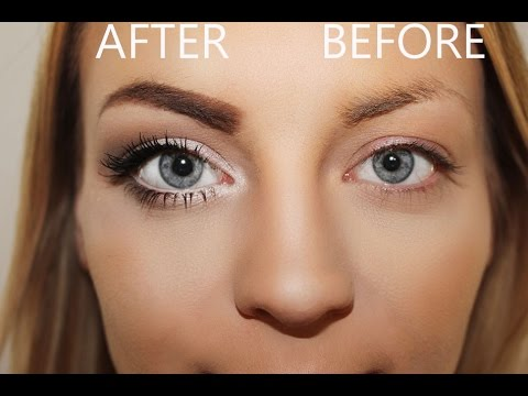 wie schminke ich meine augen gr er tutorial how to make your eyes look bigger make up. Black Bedroom Furniture Sets. Home Design Ideas