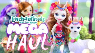 Unbox Daily: ALL NEW Enchantimals MEGA HAUL   OVER 12 New Play Sets & Dolls