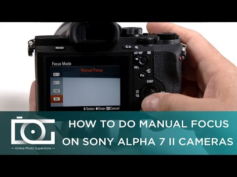 SONY a7 II TUTORIAL | How To Do Manual Focus on Sony Alpha 7