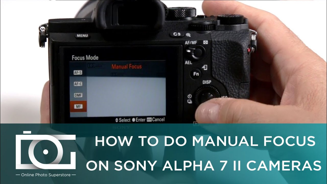 SONY a7 II TUTORIAL | How To Do Manual Focus on Sony Alpha 7 II Cameras