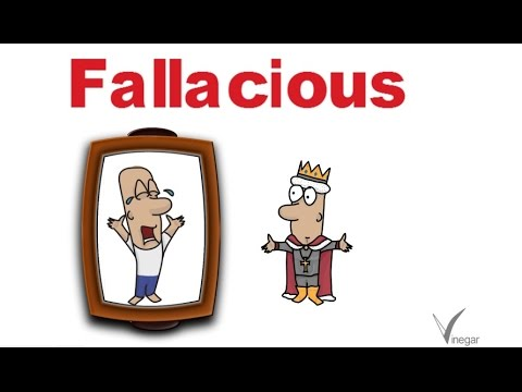Fallacious-meaning in English and Hindi with usage - YouTube