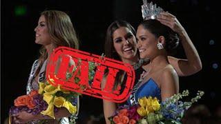 Epic Fail Miss Universe 2015 Las Vegas Nevada HD Miss Universo Gran Error Español Colombia Filipinas