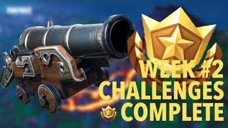 SEASON 8 CHALLENGES SOLVED! | Fortnite Season 8 Week #2 Challenges