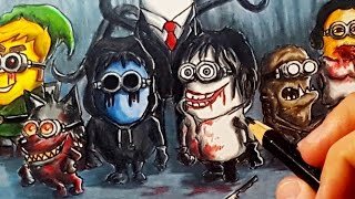 If Minions were Creepypasta Villains