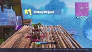 FORTNITE jet Pack win complete clip
