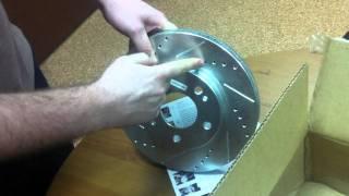 Тормозные диски, тормозные колодки Powerstop.MOV