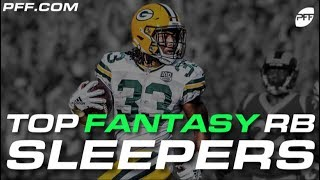 Top Fantasy Football RB Sleepers   PFF Video