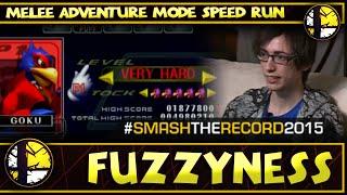 STR2015 - Fuzzyness' SSBM Adventure Mode Speedrun - Smash Melee