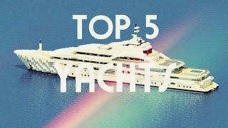 Minecraft / Top 5 des plus beaux Yachts #3