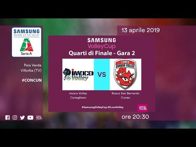 Conegliano - Cuneo | Speciale | Quarti di finale Gara 2 | Samsung Volley Cup 2018/19