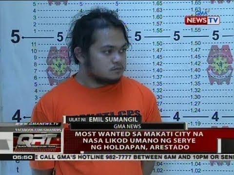 QRT: Most wanted sa Makati City na nasa likod umano ng serye ng holdapan, arestado