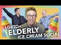 Big Gay Ice Cream Social: LGBT Seniors & Youth Discuss Coming Out & More