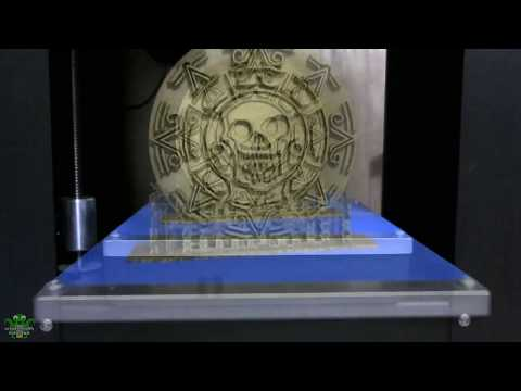 Printrbot Play: Cursed Aztec Gold from Pirates of the Caribbean