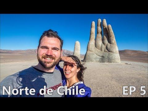 GIGANTIC HAND IN THE DESERT! - Antofagasta, Atacama Desert, Chile   Episode 5