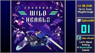 ✔️️ Full Blind Playthrough (Sayonara Wild Hearts)