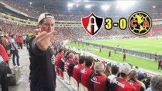 ¡ADIÓS INVICTO! Desde el Estadio Jalisco Atlas 3-0 America