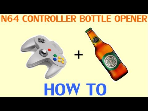 Open a Beer Bottle with a Nintendo 64 Controller