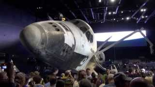 Space Shuttle Atlantis Exhibit Overview From Opening Day at Kennedy Space Center - NASA