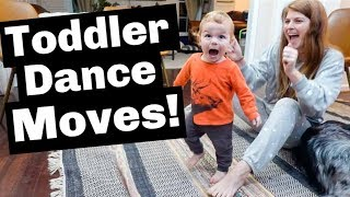 One Year Old Baby's Hilarious Dance Battle!