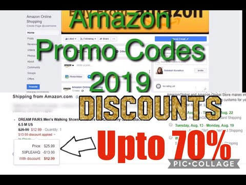 How to get Amazon Discount Codes 2019 | 100% Proof | Amazon Promo Codes