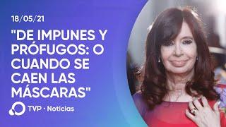 CFK \De impunes y prófugos o cuando se caen las máscaras\