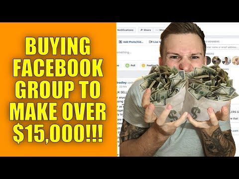 Buying A Facebook Group That'll Make Me OVER $15,000!!! (PAYPAL DOUBLE ROLLOVER)