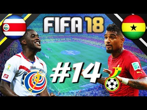 FIFA 18 - INTERNATIONAL ROULETTE #14 - COSTA RICA VS GHANA