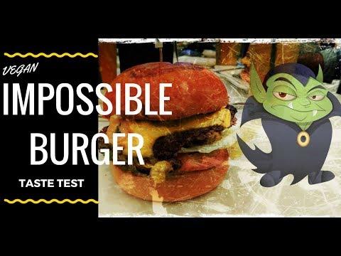 Meet the Bleeding Veggie Burger - Impossible Burger Taste Test