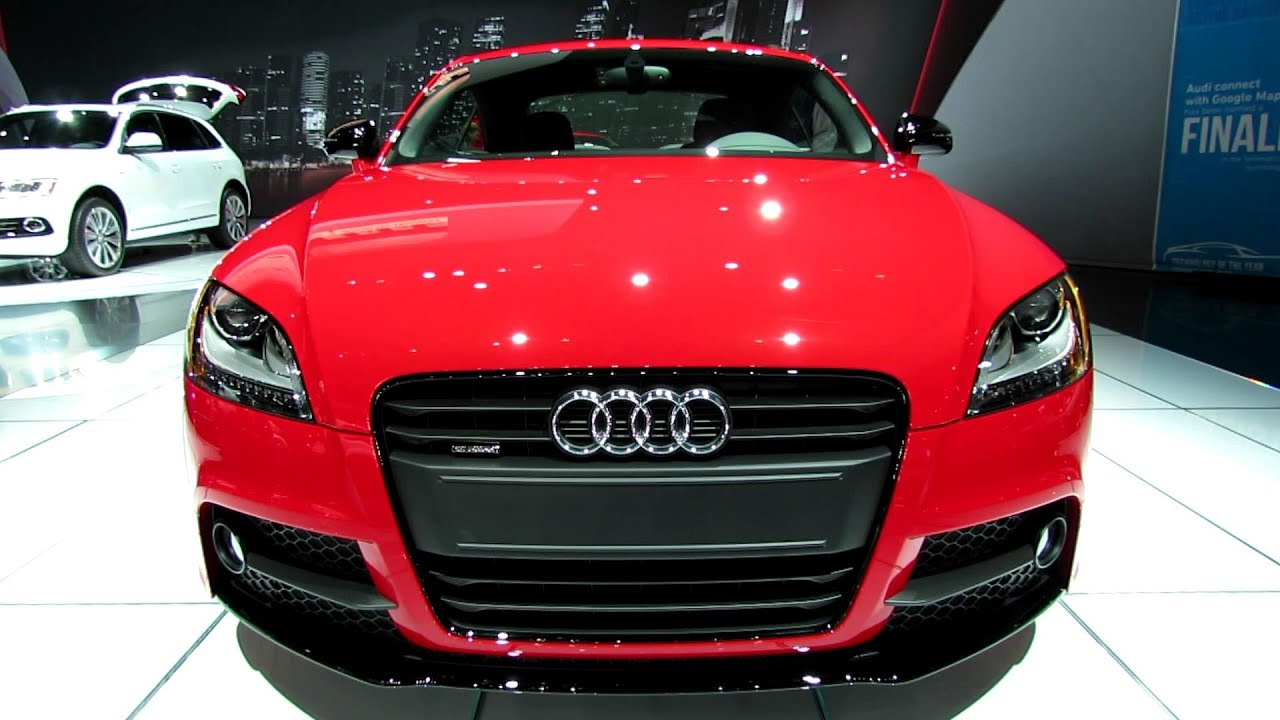 2013 audi tt s line exterior and interior walkaround 2012 los angeles auto show youtube. Black Bedroom Furniture Sets. Home Design Ideas