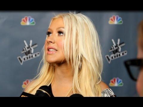 Christina Aguilera Talks Shakira- 'The Voice' Premiere Interview