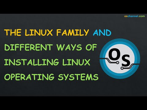 Linux For Beginners: Linux Family Overview AND Methods for Installing Linux Operating Systems