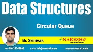 Circular Queue | Data Structures | by Mr. Srinivas