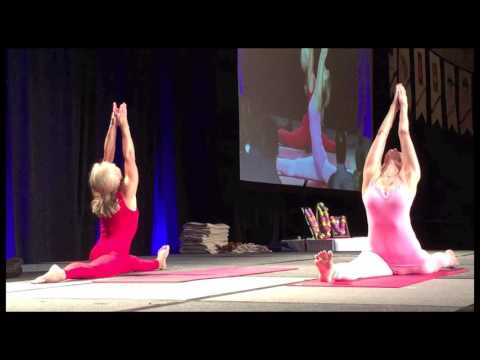Embodiment of Love - Asana Performance at the 2016 Iyengar Yoga Convention in Boca Raton, Florida