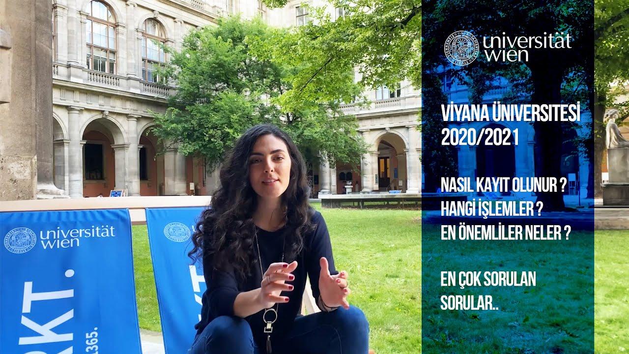 Viyana Üniversitesi Lisans Başvurusu | 2020
