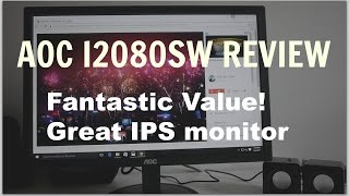 Best IPS monitor on a budget AOC I2080SW review
