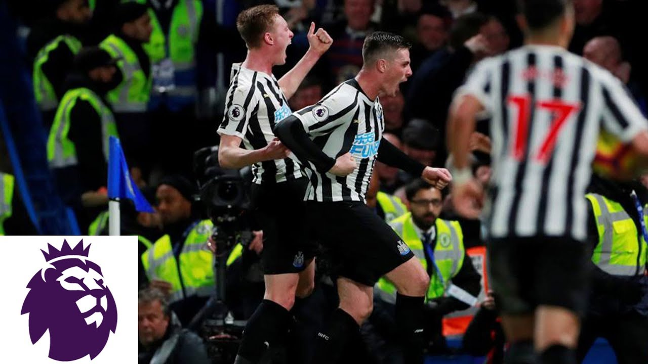 Ciaran Clark's header equalizer for Newcastle | Premier League | NBC Sports
