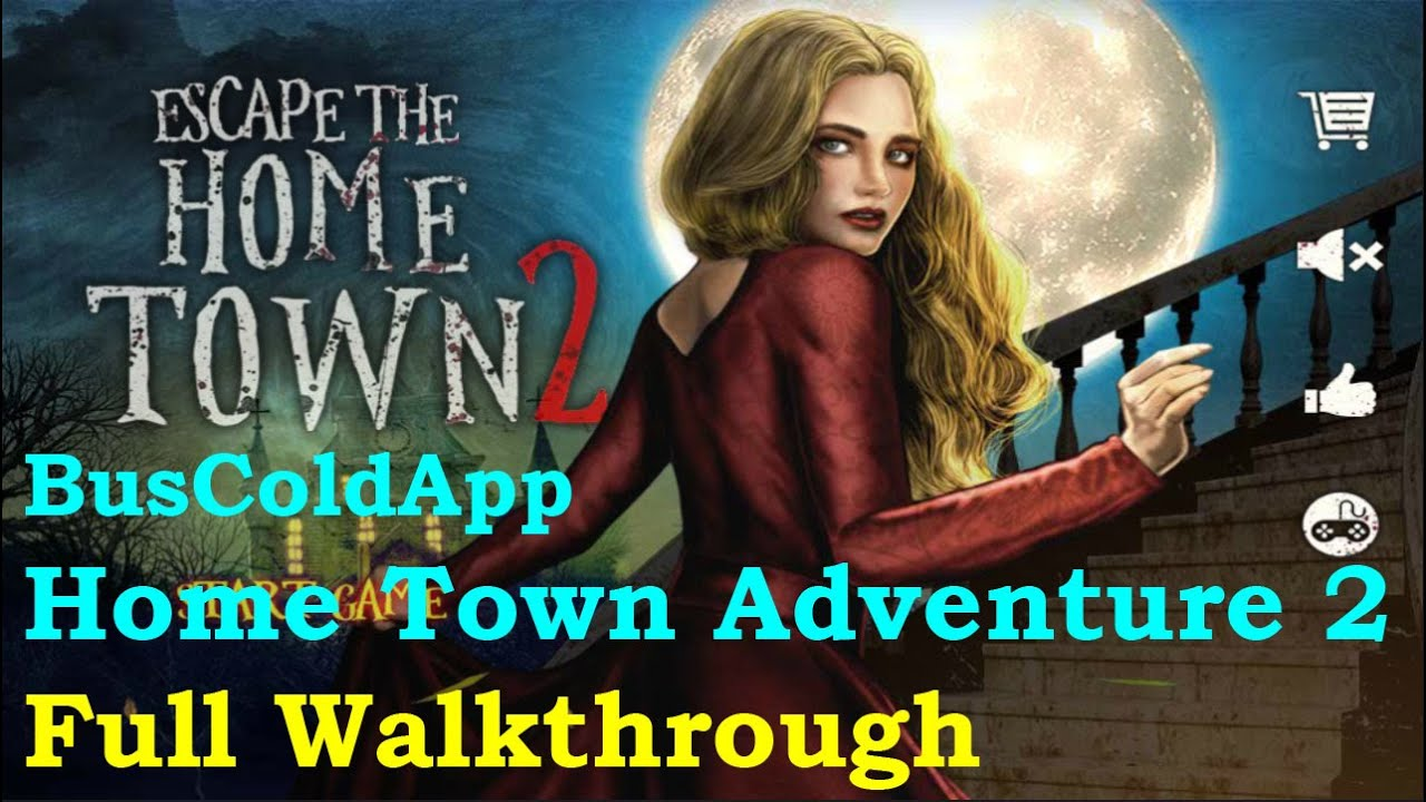 Escape The Home Town 2 Full Walkthrough Buscoldapp Youtube