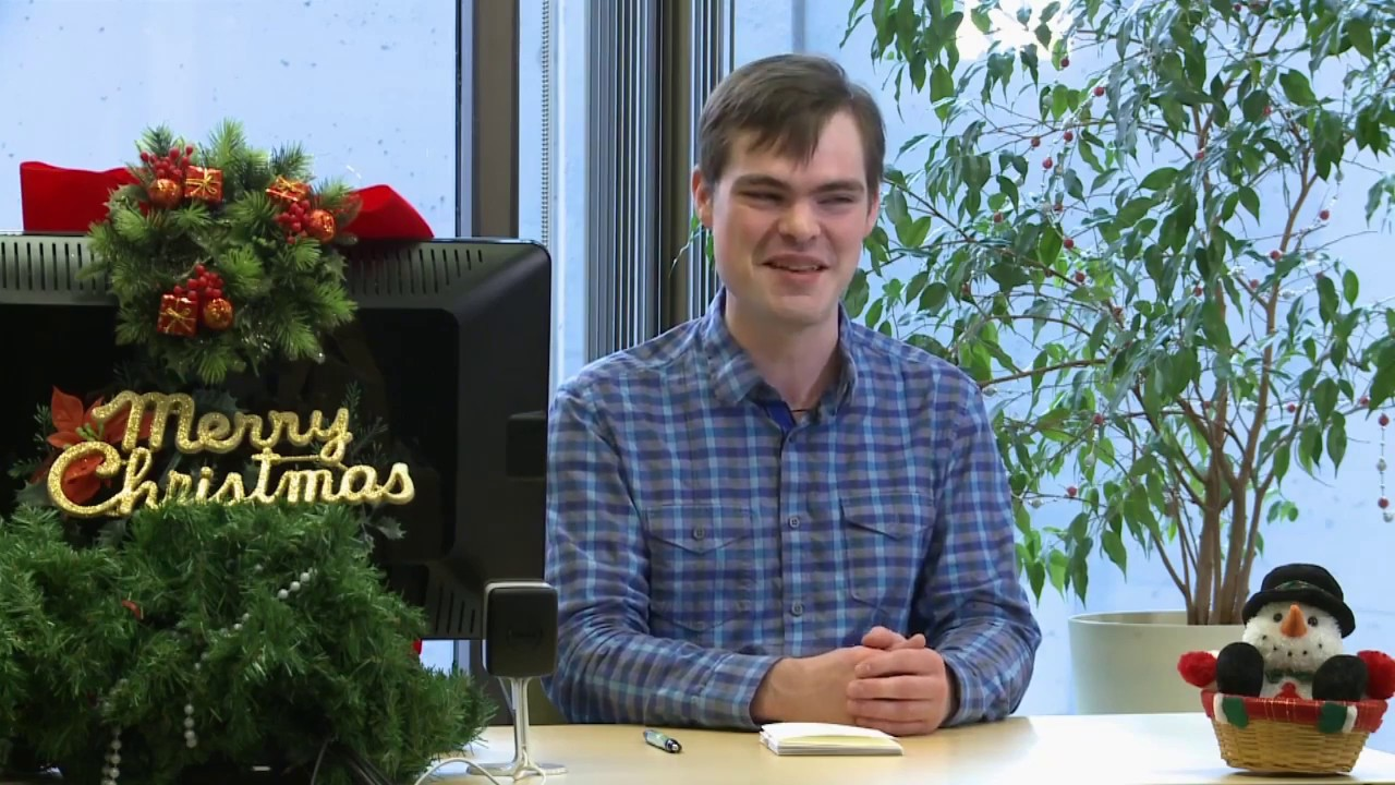 Braille Christmas Cards, with ATW\'s Grant Hardy - YouTube