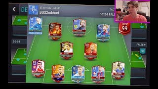 FIFA Mobile 99 OVR *UPDATED* Team!!! VS Attack GRIND w/ GAMEPLAY!! Messi is a BEAST!   FIFA Mobile