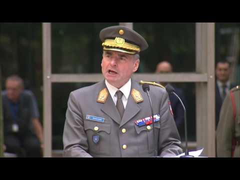 Handover Ceremony Director General EU Military Staff