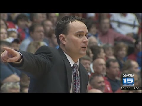 Indiana University names Archie Miller basketball coach on 3/25/17