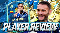 MY RED PICKS! 😉 88 TOTSSF LUCAS PEREZ PLAYER REVIEW! - FIFA 20 Ultimate Team