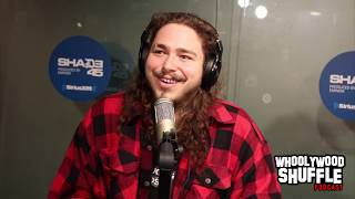 "Post Malone Talks ""rockstar"", working with Future and Dietary Trends with DJ Whoo Kid"