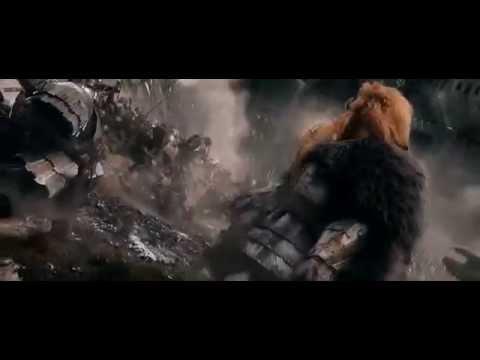 The Hobbit - Dain and Thorin meet on the battlefield