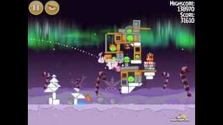 Angry Birds Seasons Winter Wonderham 1-24 Walkthrough 3-Star