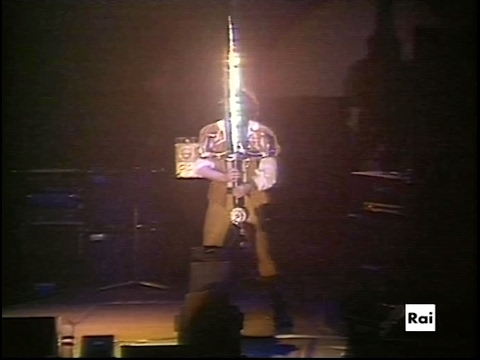"Jethro Tull Live In Roma ""Seven Up"" 1982 ""Broadsword & The Beast"""