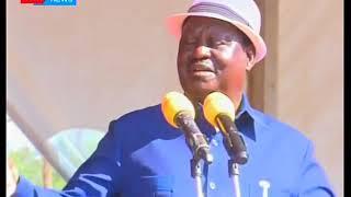 Raila Odinga dismisses calls for Luhya unity, insists on countrywide unity